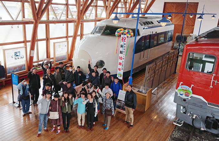 社会体験活動(鉄道博物館)